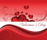 Il giorno del biglietto di S. Valentino Immagini Stock