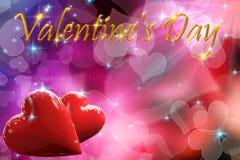 il giorno del biglietto di S. Valentino 3D Fotografia Stock