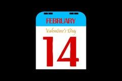 il giorno del biglietto di S. Valentino 3D Fotografie Stock