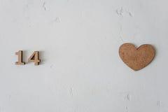 Il giorno del ` s del biglietto di S. Valentino fiorisce il giorno del ` s delle donne Fotografia Stock Libera da Diritti