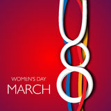 il giorno delle donne Fotografia Stock Libera da Diritti