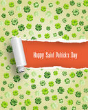 Il giorno di San Patrizio felice Royalty Illustrazione gratis