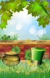 Il giorno di St Patrick - cartolina d'auguri Immagini Stock Libere da Diritti