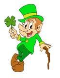 Il giorno di St Patrick del leprechaun Fotografia Stock Libera da Diritti