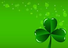 Il giorno di St Patrick della cartolina d'auguri Fotografia Stock Libera da Diritti