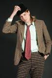 Il giovane è in un vestito Fotografie Stock