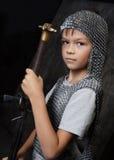 Il giovane cavaliere Immagine Stock