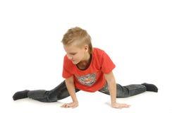 Il giovane danzatore Fotografia Stock