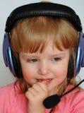 Il giovane DJ Fotografia Stock