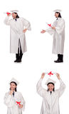 Il giovane pronto per la graduazione dell'università Immagini Stock Libere da Diritti
