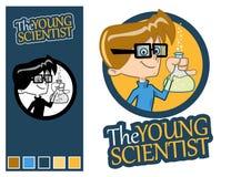 Il giovane scienziato Immagini Stock Libere da Diritti
