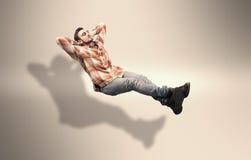 Il giovane si rilassa Fotografia Stock Libera da Diritti