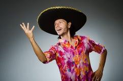 Il giovane uomo messicano Fotografia Stock Libera da Diritti