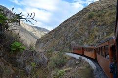 Il giro del treno del naso del diavolo, Ecuador immagini stock libere da diritti