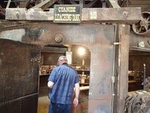 Il giro della mina di oro nell'Idaho balza Colorado Fotografia Stock