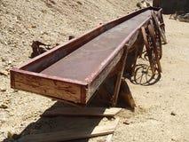Il giro della mina di oro nell'Idaho balza Colorado Fotografie Stock