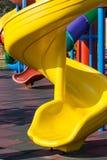 Il giro multicolore fa scorrere con giallo uno in priorità alta fotografia stock