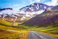Il giro nei paesi nordici Fotografie Stock