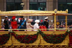Il giubileo di diamante della regina Fotografie Stock