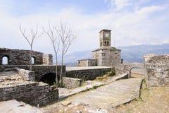 Il gjirokastra Albania Europa della fortezza Immagini Stock Libere da Diritti