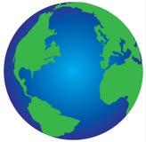 Il globo del mondo Immagini Stock