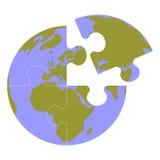 Il globo della terra ha messo 013 Fotografia Stock Libera da Diritti