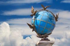 Il globo a Kiev fotografia stock libera da diritti