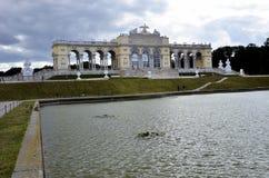 Il Gloriette storico e famoso a Vienna Fotografia Stock