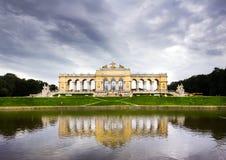 Il Gloriette, Vienna immagine stock