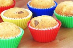 Il glutine libera i muffin immagini stock