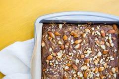 Il glutine libera il dessert Immagini Stock