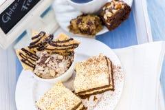 Il glutine libera il dessert Immagine Stock