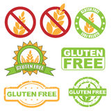 Il glutine libera il simbolo Fotografie Stock Libere da Diritti