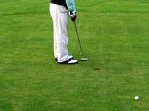Il golf - non ha fortuna Immagine Stock Libera da Diritti