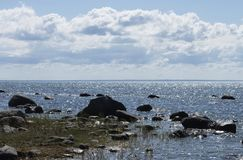 Il golfo del Mar Baltico fotografia stock libera da diritti