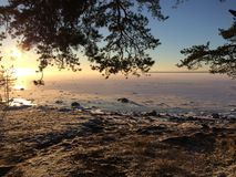 Il golfo della Finlandia Fotografie Stock
