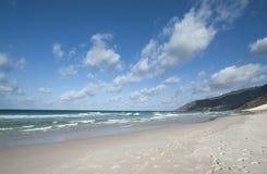 Il golfo di Aden dalla costa del nord, spiaggia Immagini Stock