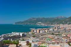 Il golfo di Salerno Fotografia Stock