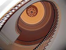 IL Gov.'s Mansion-Staircase Stock Image