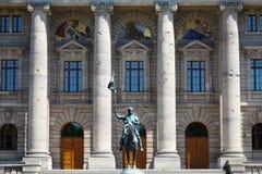 Il governo storico Staatskanzlei Monaco di Baviera Immagine Stock Libera da Diritti