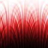 Il gradiente rosso allinea l'effetto Fotografia Stock