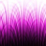 Il gradiente viola allinea l'effetto Fotografie Stock