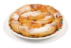 Il grafico a torta bulgaro 1 delle carote Fotografie Stock
