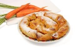 Il grafico a torta bulgaro 2 delle carote Immagine Stock Libera da Diritti