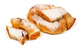 Il grafico a torta bulgaro 4 delle carote Immagine Stock Libera da Diritti