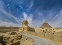 Il gran Sphinx Fotografia Stock