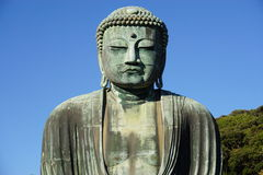 Il grande Amida Buddha di Kamakura (Daibutsu) in Kotoku-in tempio Fotografia Stock Libera da Diritti