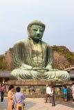 Il grande Buddha di Kamakura Fotografia Stock Libera da Diritti