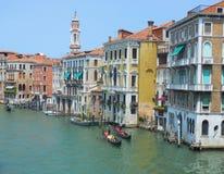Il grande canale di Venezia Immagine Stock