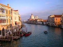 Il grande canale a Venezia Immagine Stock Libera da Diritti